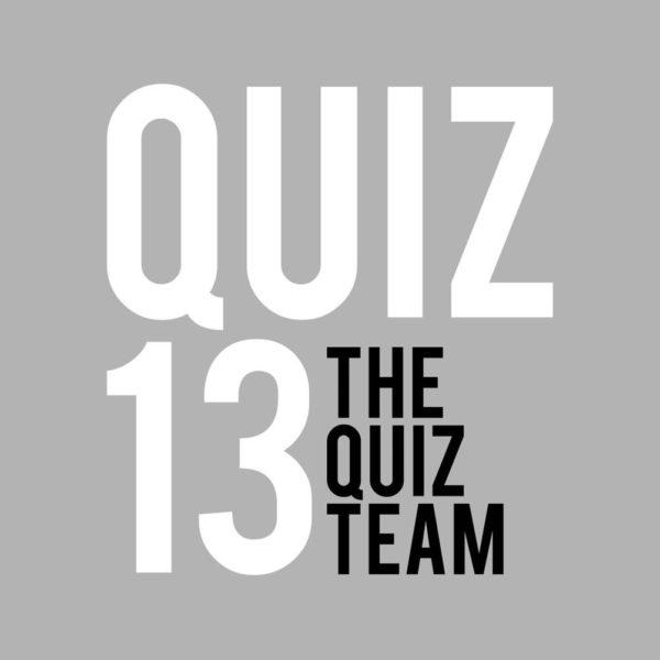 Quiz 13
